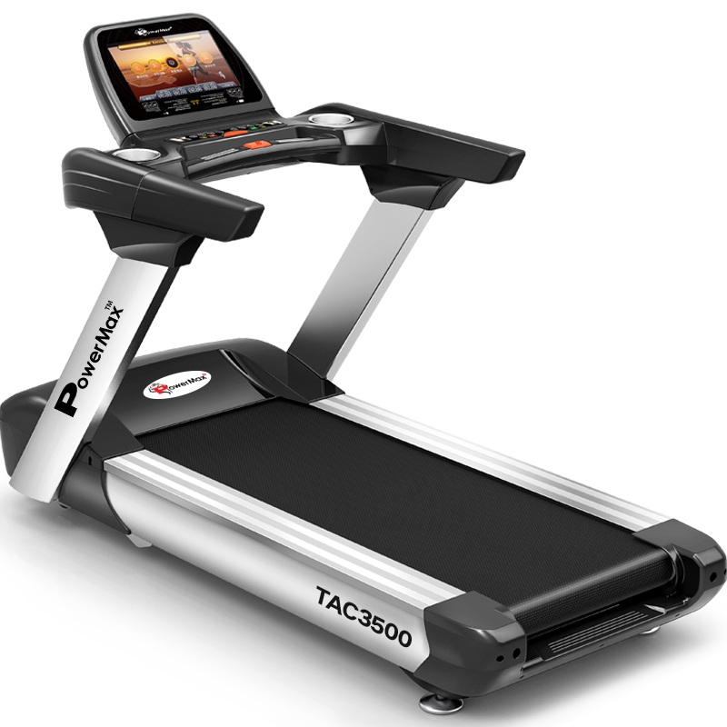 Commercial 1750 Treadmill Assembly: TAC-3500 Commercial Motorized AC Treadmill (15.6' COLOR